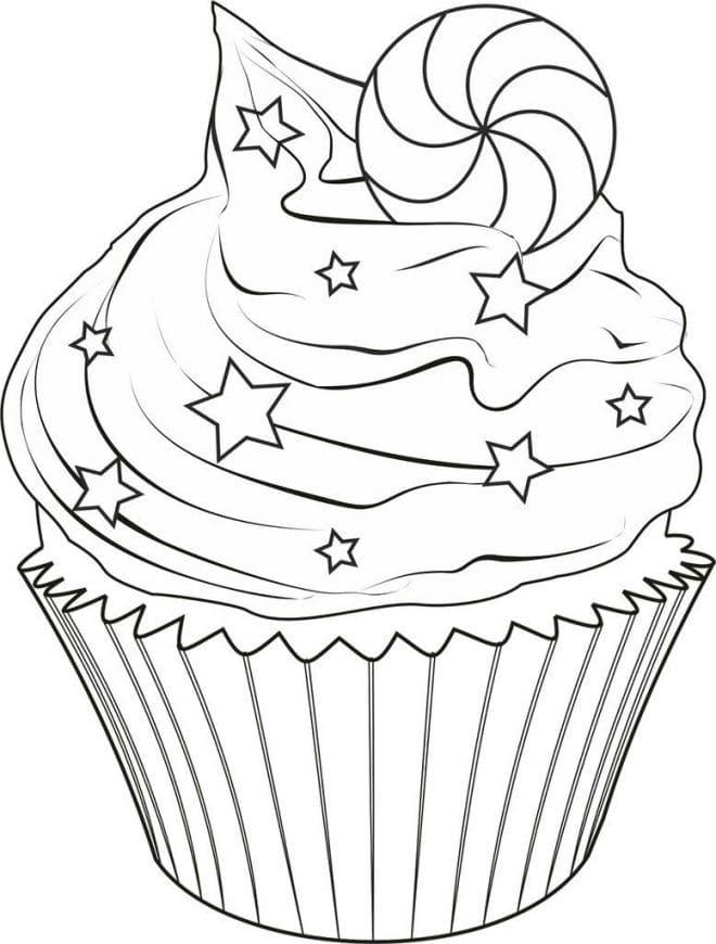 ausmalbilder cupcake die besten bilder von süßigkeiten hier