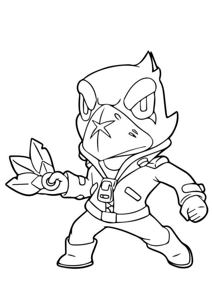 brawl stars coloring pages all characters  coloring and