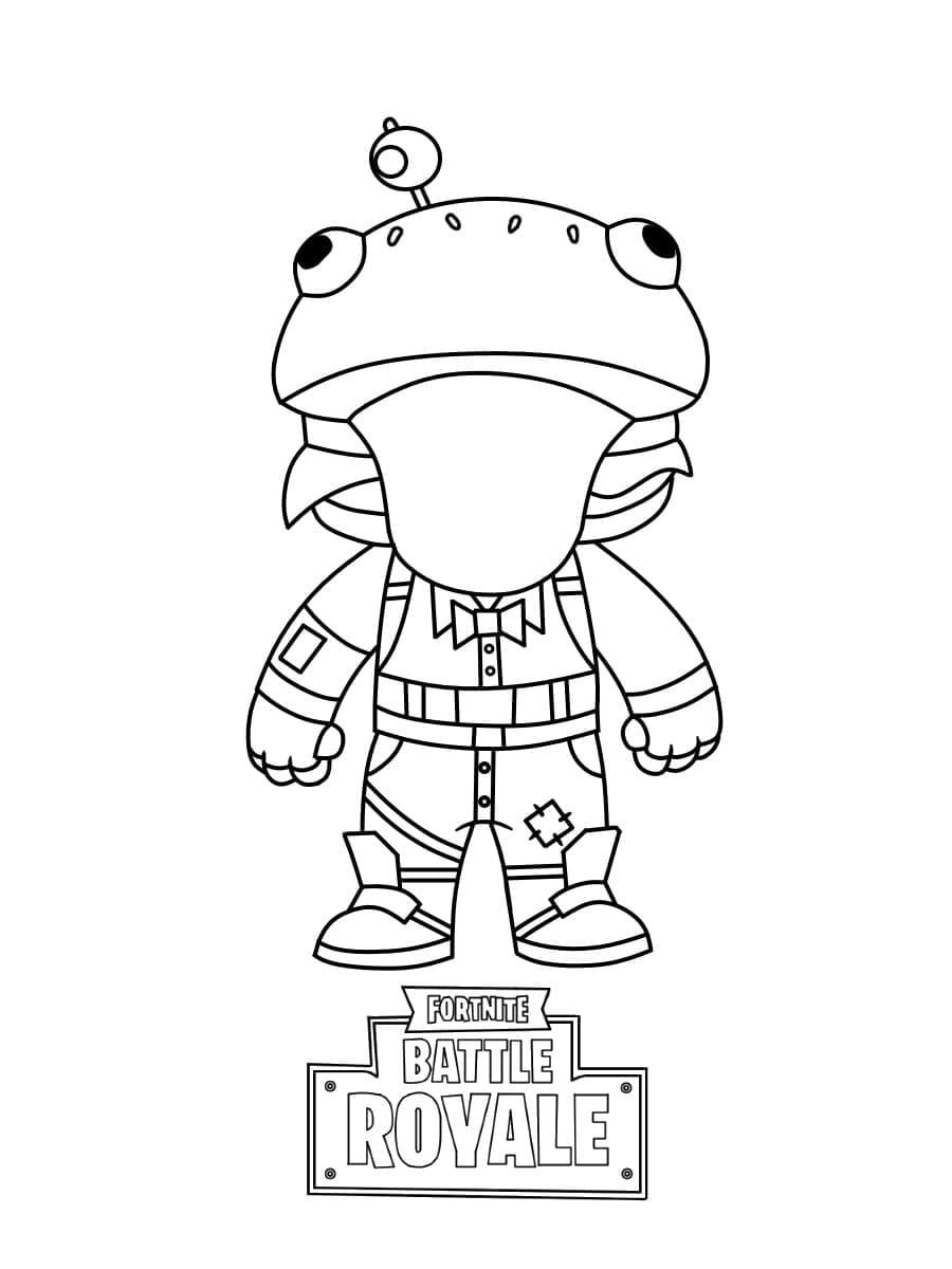 Disegni di Fortnite da colorare. 200 immagini. Stampa gratis