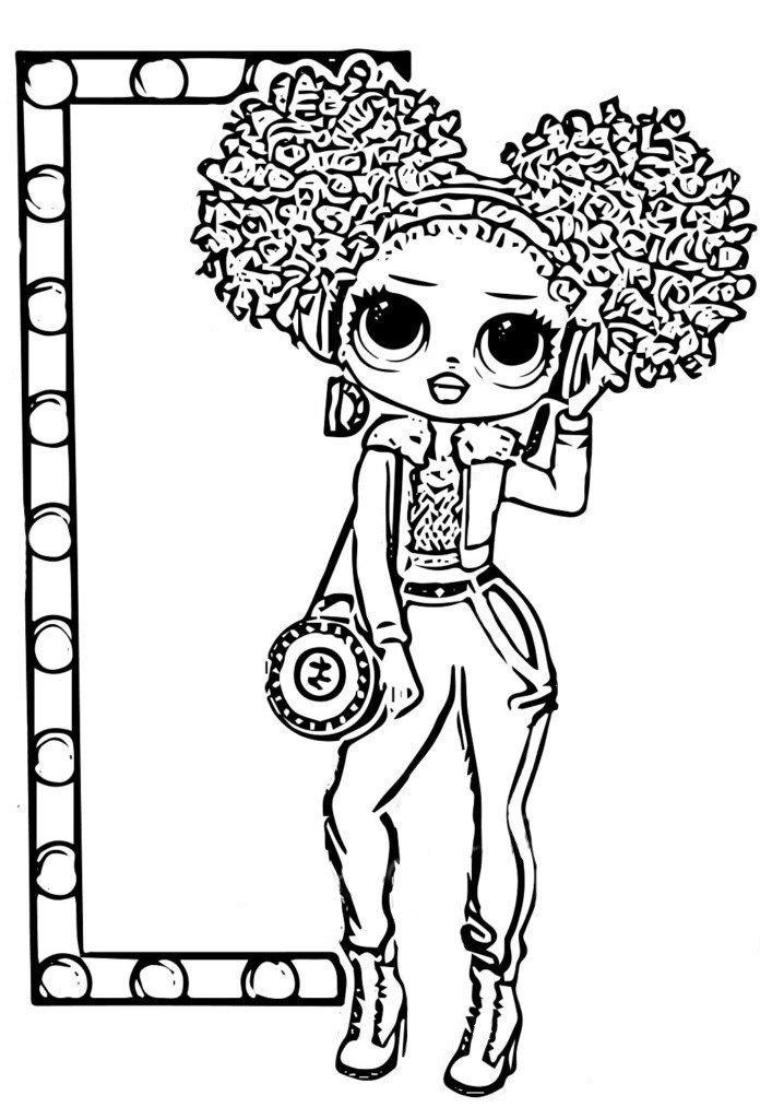 Dibujos Para Colorear Lol Omg Imprime Nuevas Munecas Gratis