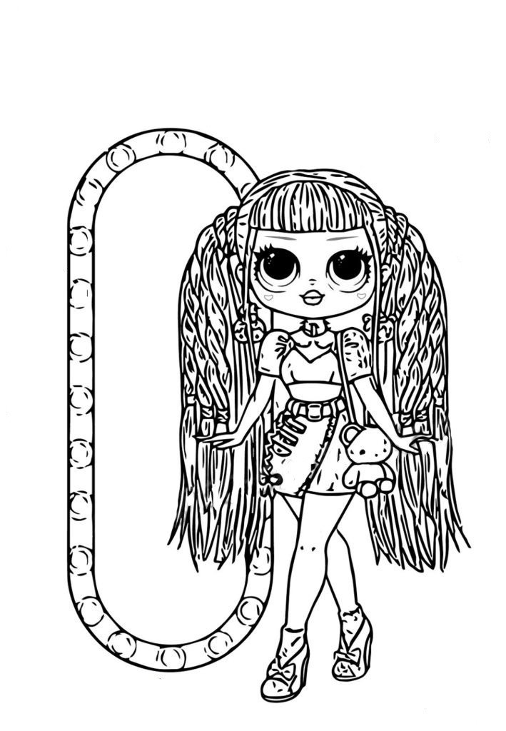 Coloring Pages Lol Omg Download Or Print New Dolls For Free