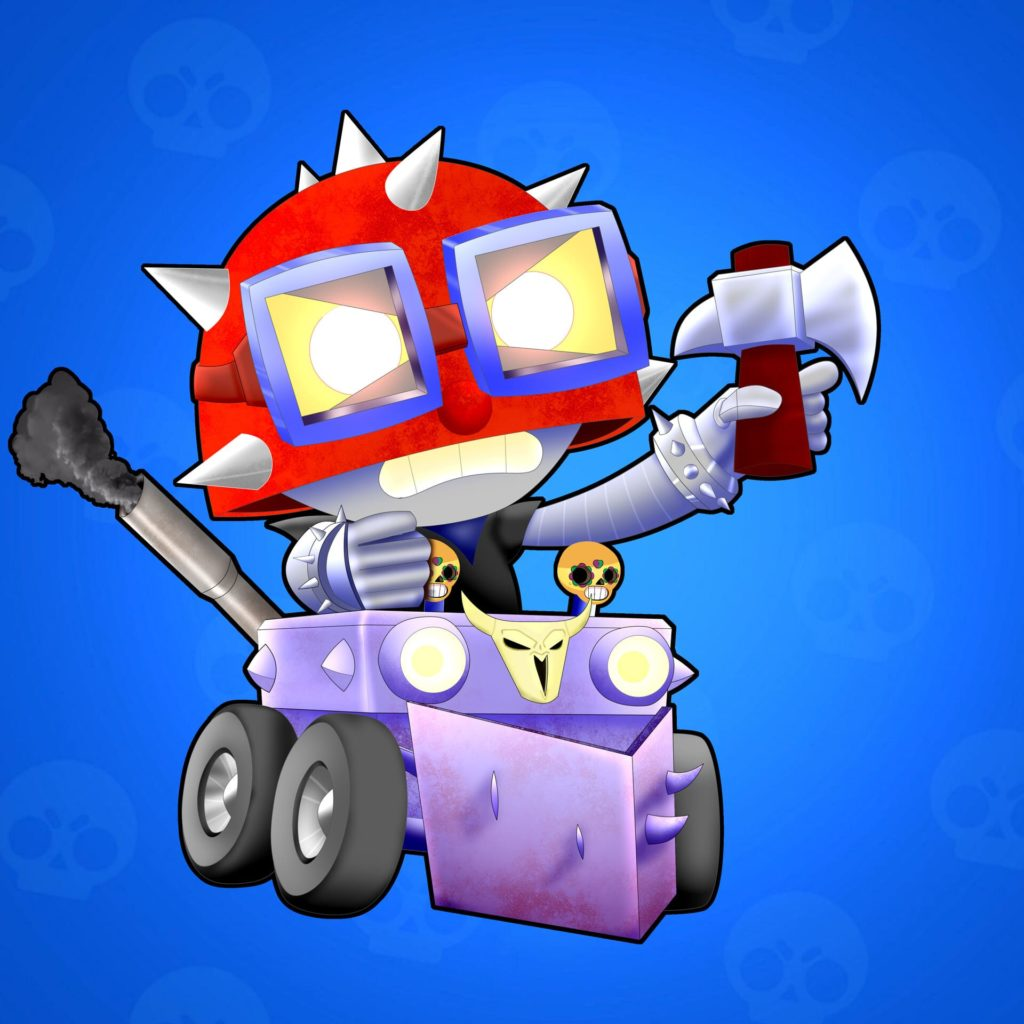 Images Brawl Stars. Sandy, Spike, Leon, 8 bit and other heroes