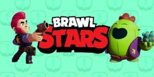 Imagens Brawl Stars. Sandy, Spike, Leon, 8 bit e outros heróis