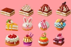 Desenhos de Cupcake para colorir. As melhores imagens de doces aqui