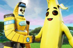 Банан Фортнайт. Все скины, обои, картинки, раскраски