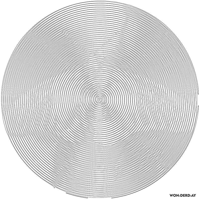 Disegni da colorare di Spirale Spiroglyphics. Stampa ...