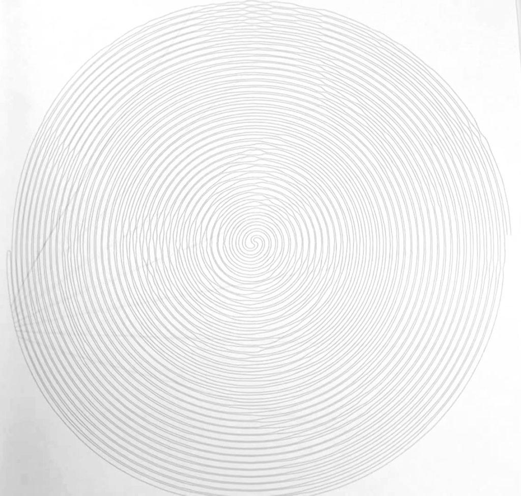 Coloriage Spiroglyphics. Cercle en spirale. Imprimer ...