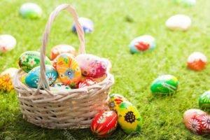 Раскраски Пасхальных яиц для детей, 60 картинок