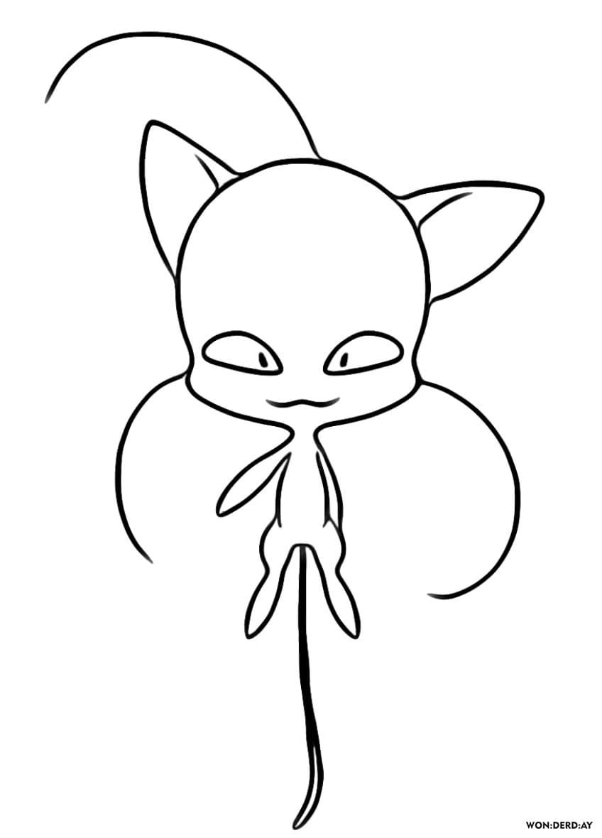 Disegni Da Kwami Colorare Tikki Nooro E Altri Miraculous Ladybug