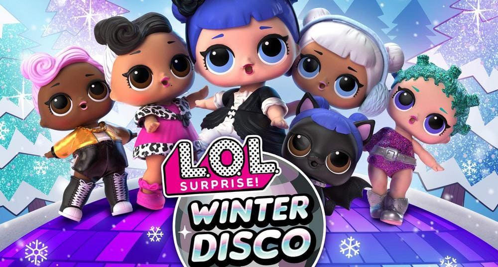 Lol Surprise Winter Disco Coloring Pages Print Dolls And Pets