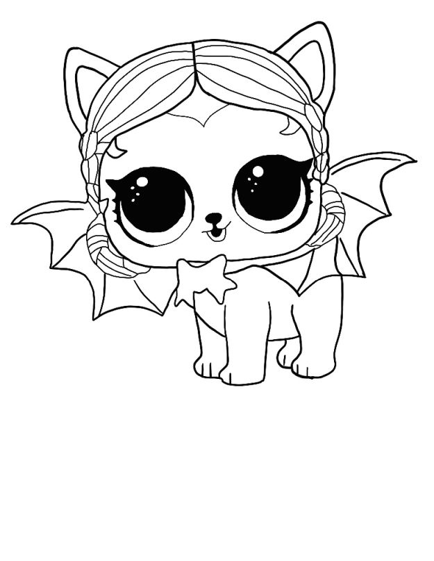 lol surprise winter disco coloring pages. print dolls and pets