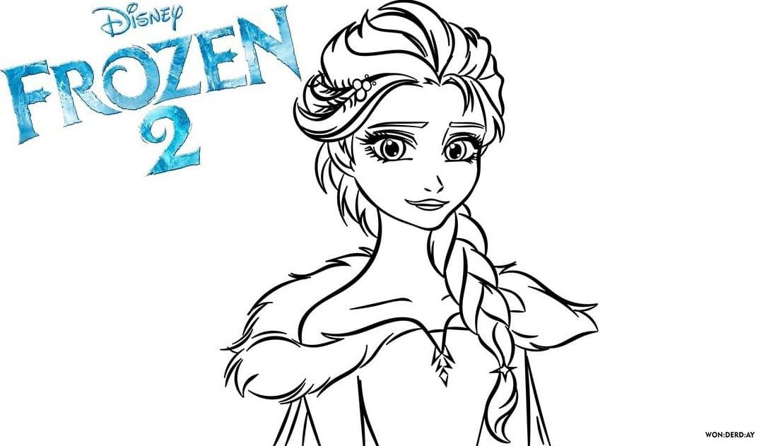100 Ausmalbilder Die Eiskonigin 2 Frozen 2 Kostenlos Ausdrucken