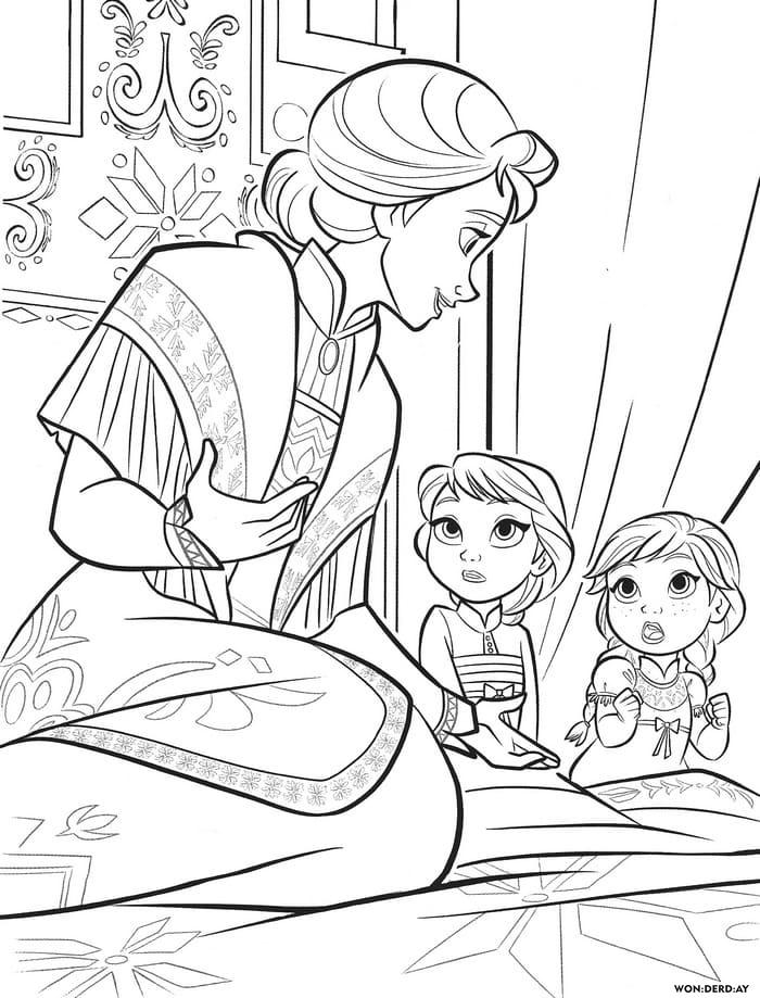 100 Mejores Dibujos Para Colorear Frozen 2 Imprime Gratis