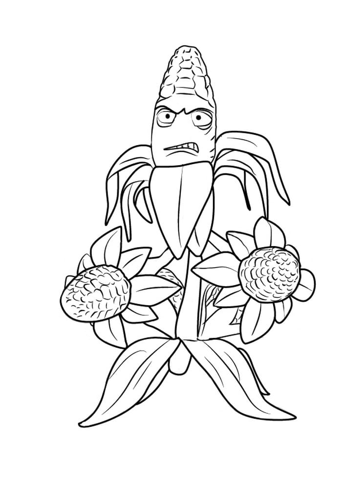 Buckethead Zombie Coloring Page - Free Plants vs. Zombies Coloring ... | 989x700