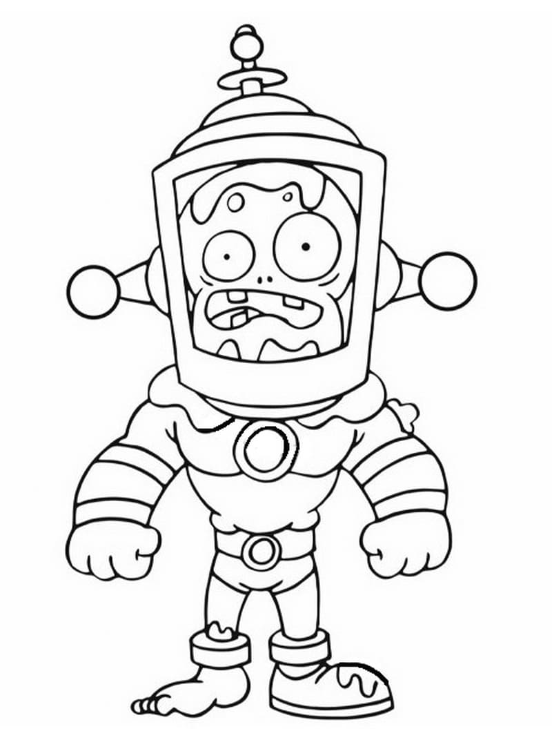 Plants Vs Zombies Coloring Pages All Parts 1 2 3
