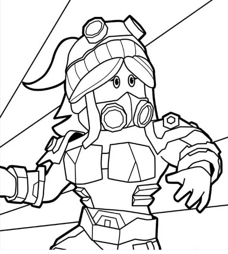 Coloring Pages Roblox. Print for free