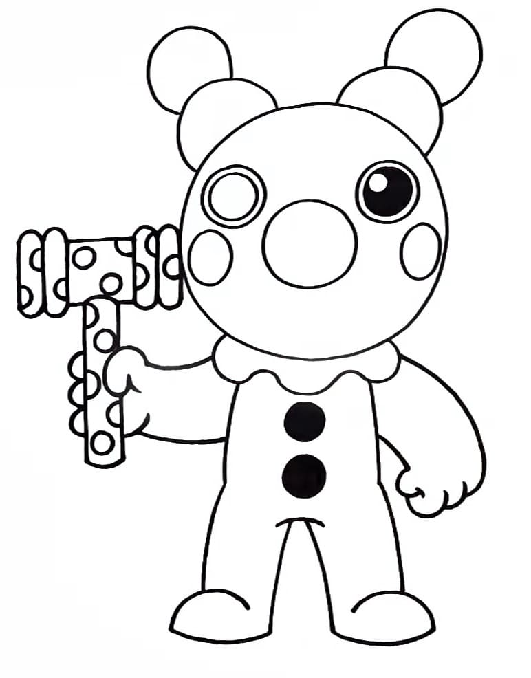 Coloring Pages Roblox Piggy Adopt Me And Others Print For Free