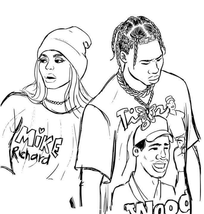 18 Rapper Coloring Pages - Printable Coloring Pages