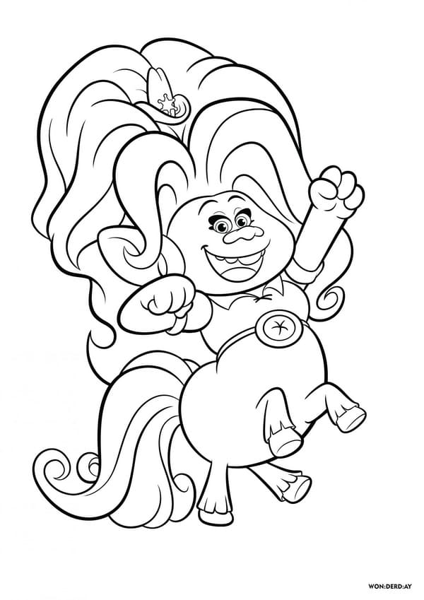 - Coloring Pages Trolls World Tour. Free Print All Trolls