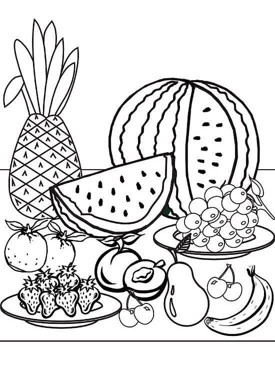 Coloring Pages Summer. 110 Images for Kids