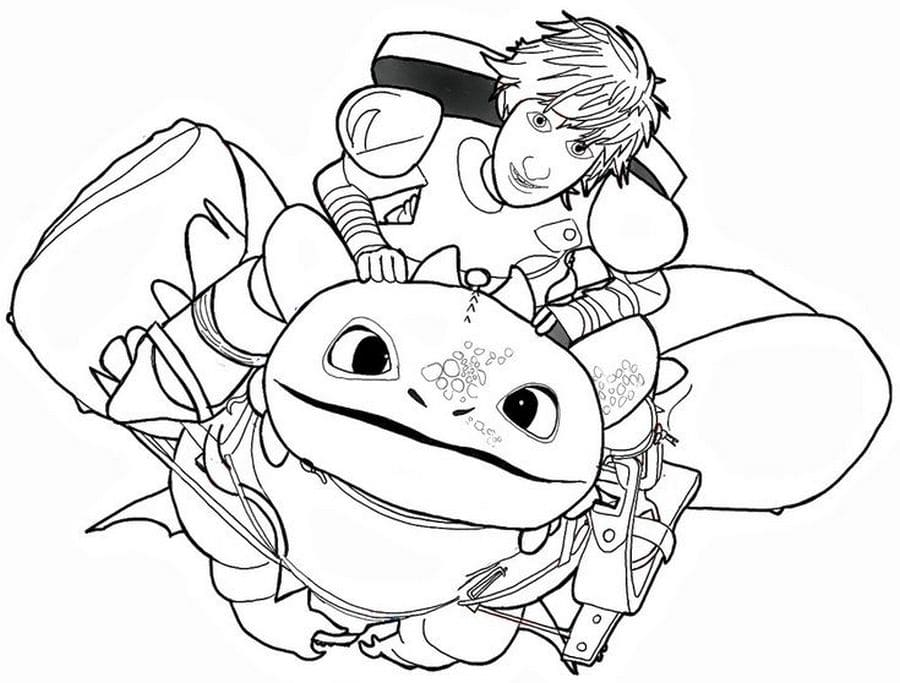 - Coloring Pages How To Train Your Dragon 3. Best Collection
