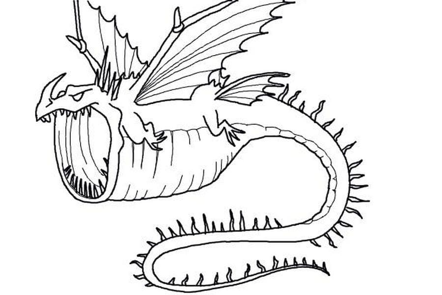 How To Train Your Dragon Coloring Pages - 100 Free Coloring Pages