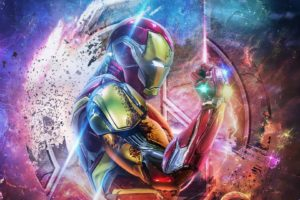 Disegni da Colorare Iron Man. Stampa Supereroe Gratis