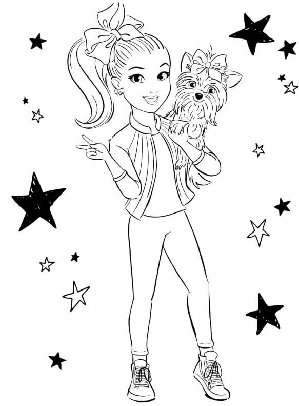 Coloring Pages Jojo Siwa Picture Ideas Xcolorings Hand Drawing ... | 791x583