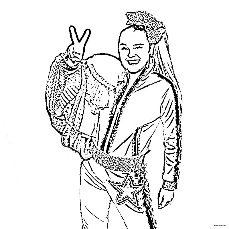 - Coloring Pages Jojo Siwa. Download And Print For Free