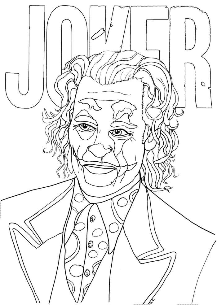 Joker Da Colorare.Disegni Da Joker Colorare Stampa Gratis Dc Comics