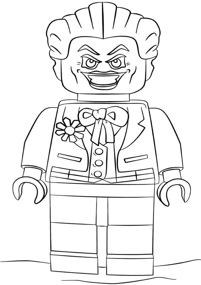 Joker Coloring Pages Print For Free Dc Comics Wonder Day