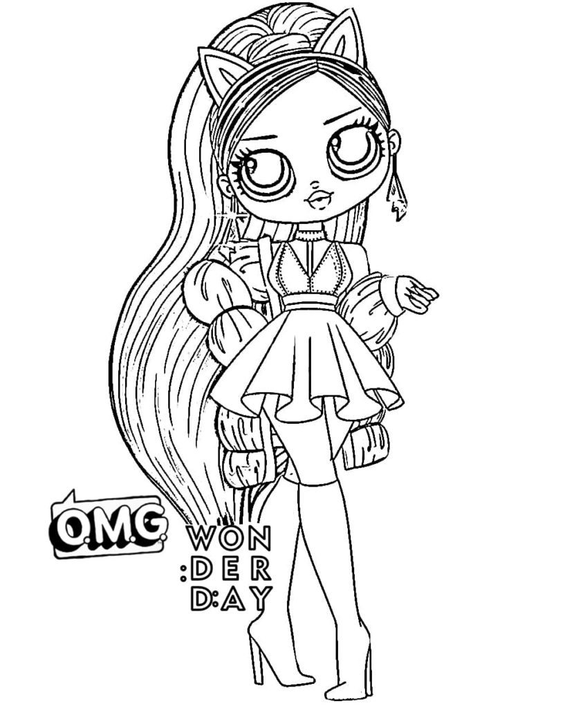 Coloring Pages Lol Omg Download Or Print For Free