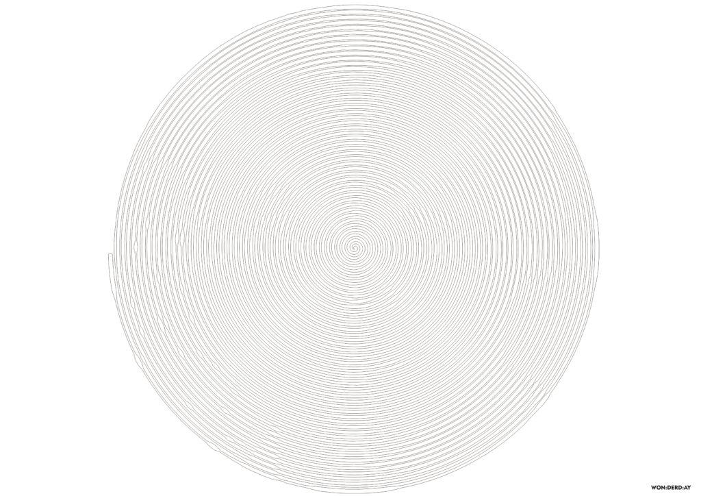 Spiroglyphics Раскраска по кругу. Новая коллекция ...