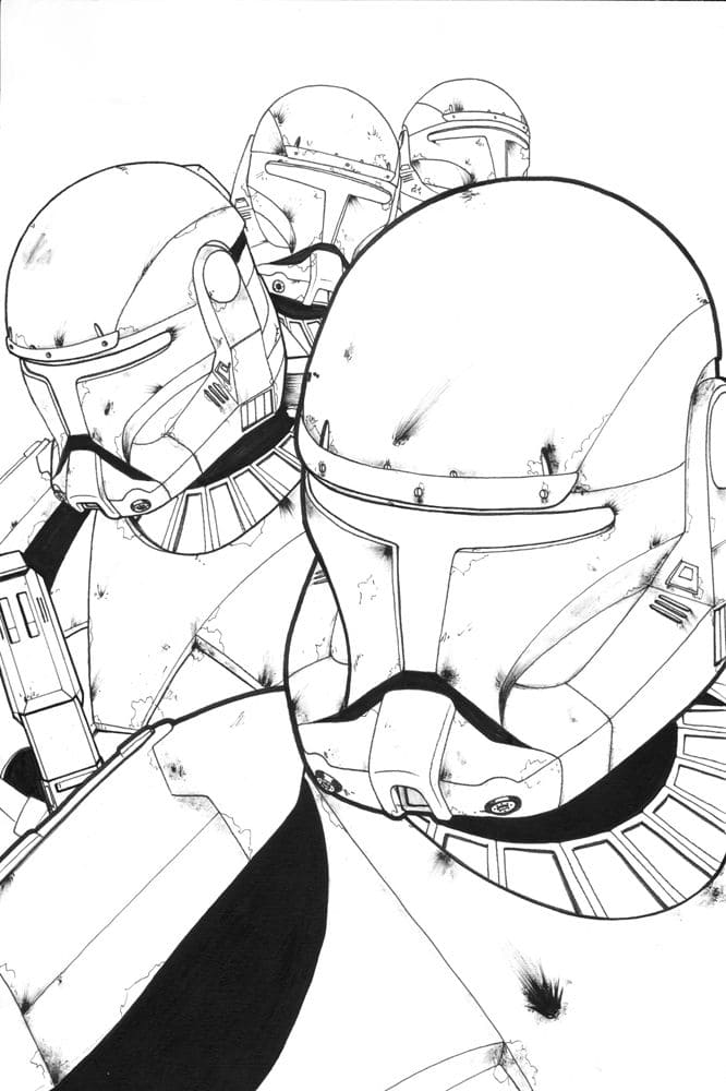 Coloriage Star Wars 110 Coloriages Pour Une Impression Gratuite