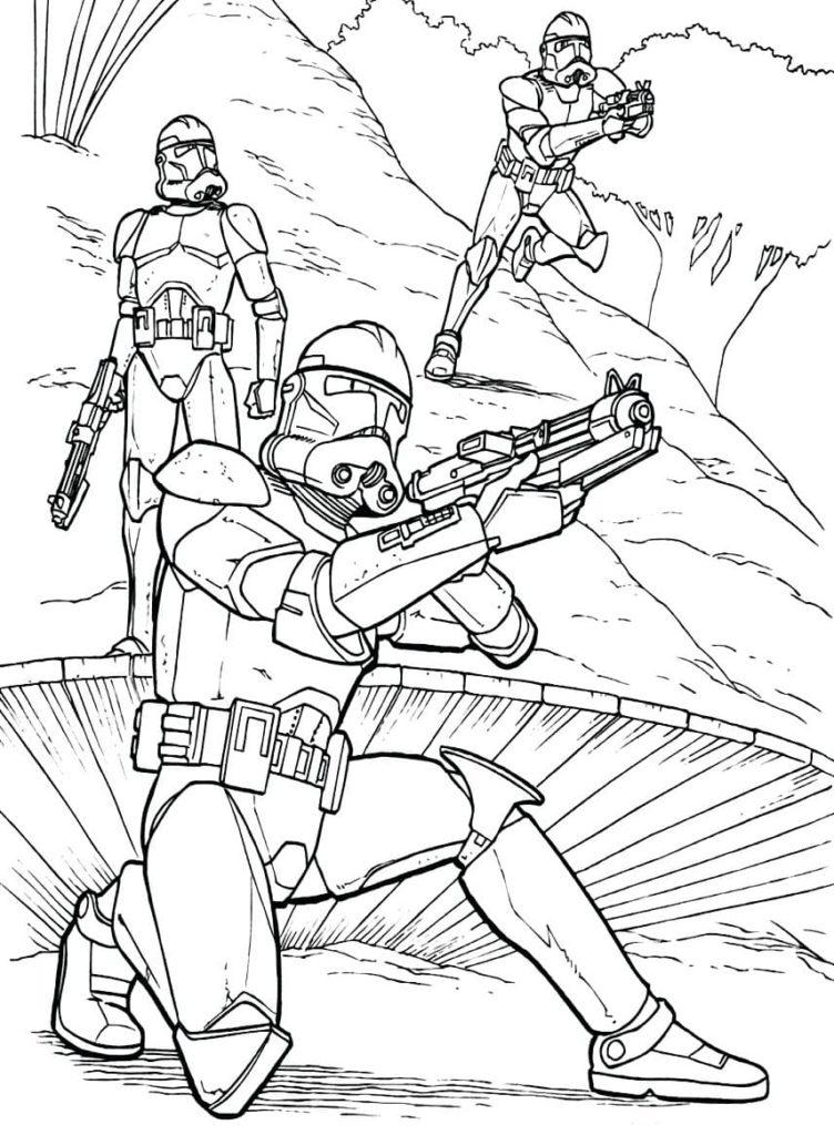 Coloriage Star Wars 110 Coloriages Pour Une Impression Gratuite