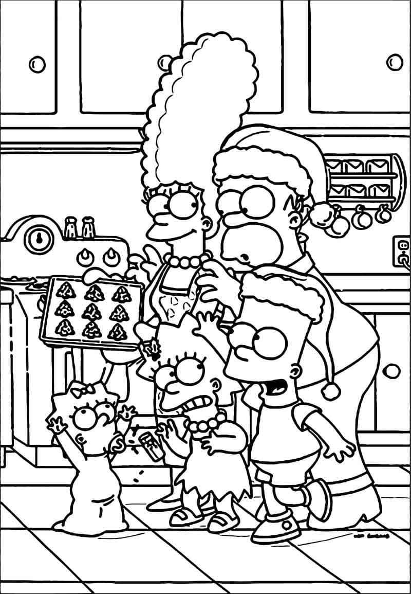 Coloriage Les Simpsons. 100 Coloriages pour une impression ...