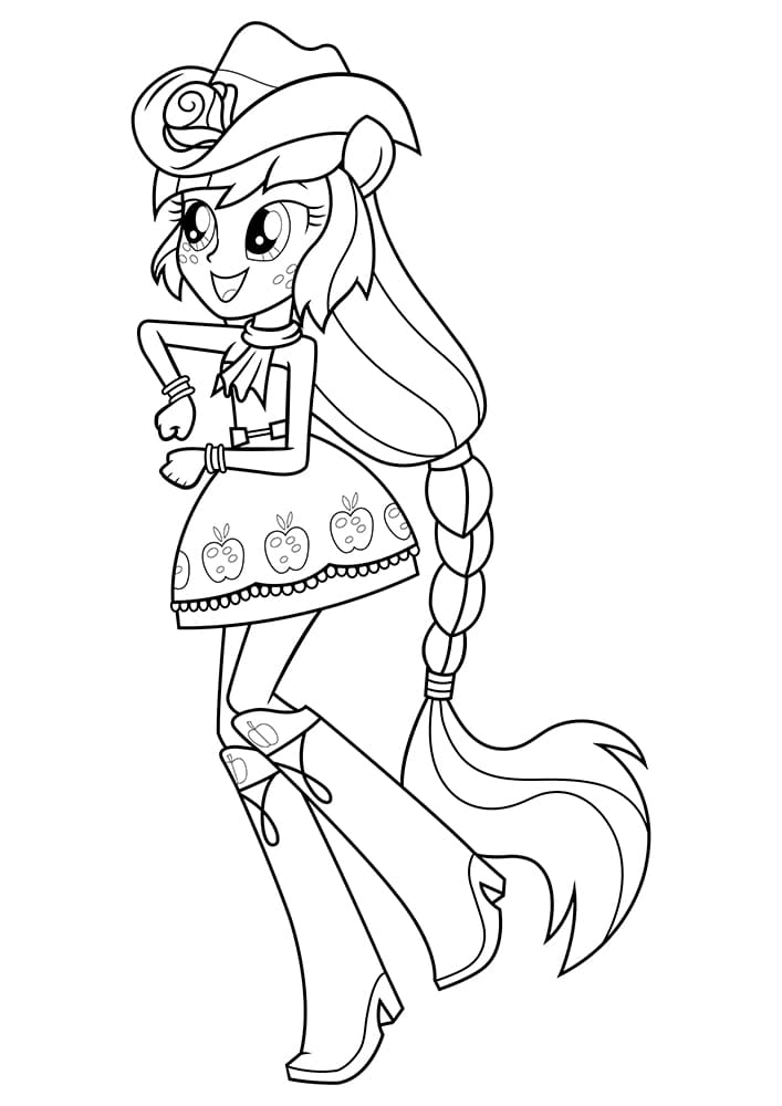 Coloring pages Equestria Girls. 100 Coloring Pages for Printing