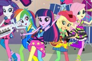 Coloriage Equestria Girls. 100 Coloriages pour imprimer