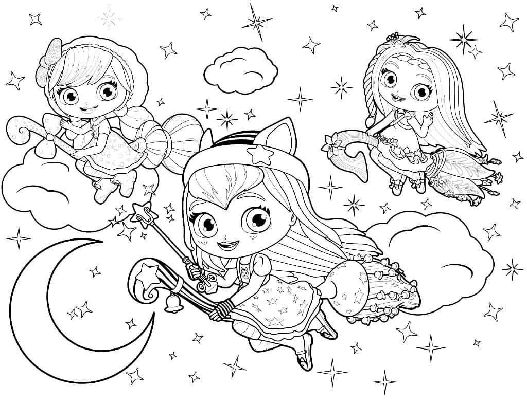 Coloring Pages for girls 7 years old. Print 110 Free Coloring Pages