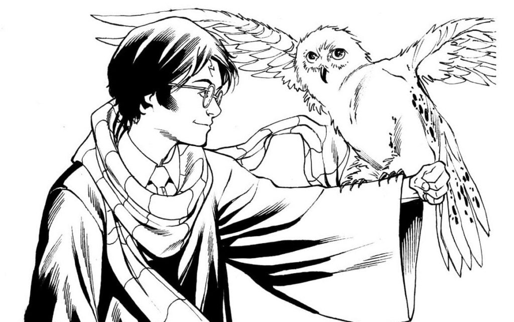 coloring pages harry potter 150 pieces print a4 wonder day coloring pages harry potter 150 pieces
