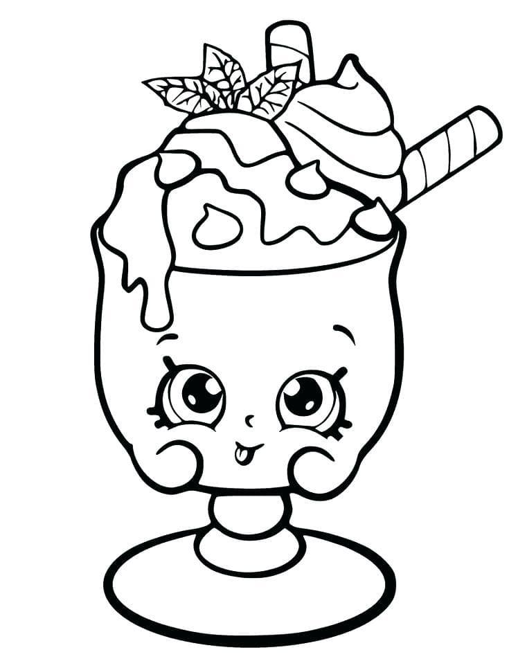 Ausmalbilder Essen Mit Gesicht | Kinder Ausmalbilder
