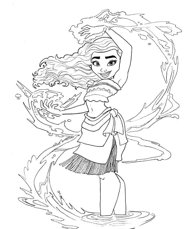 moana coloring pages download and print for free
