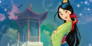 Dibujos de Mulán para colorear. Imprime Disney Princesa gratis