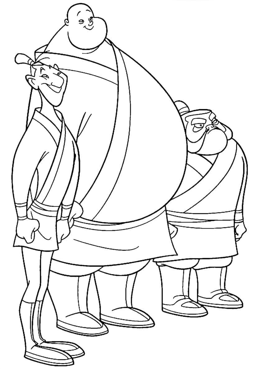 ausmalbilder mulan drucken sie disney prinzessin kostenlos