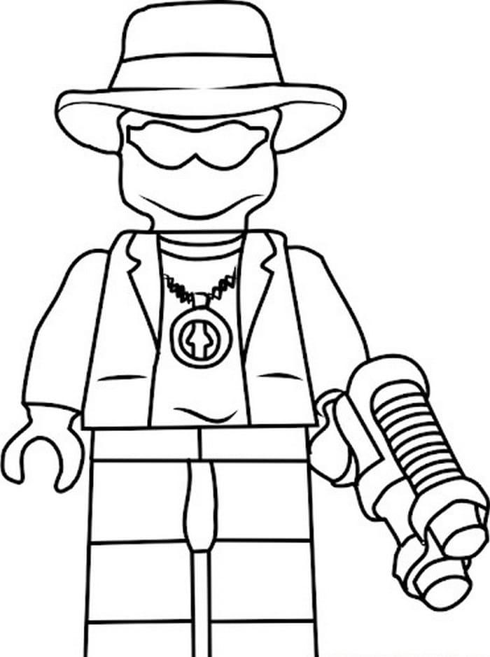 Coloriages Lego Ninjago 100 Pieces Imprimer Gratuitement A4