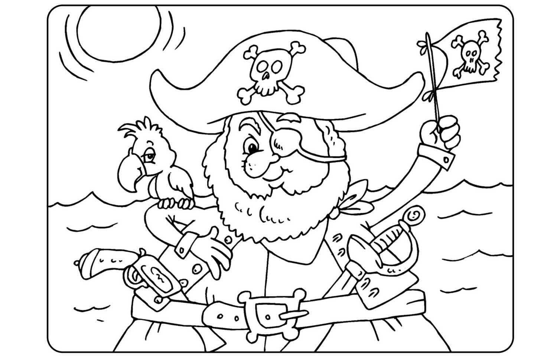 ausmalbilder piraten 100 stück kostenlos drucken