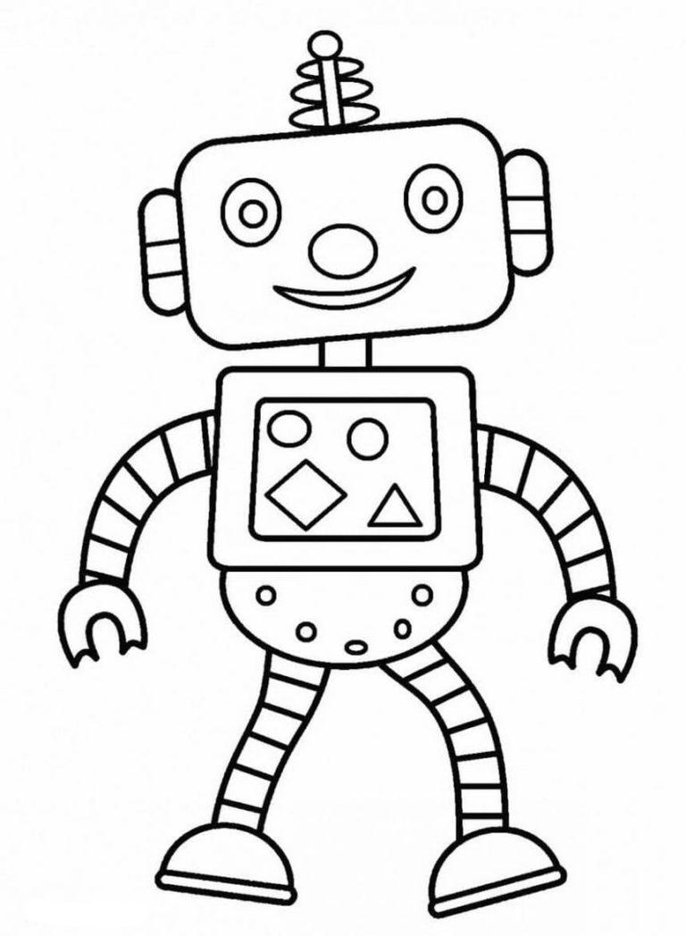 ausmalbilder roboter kostenlos eine große sammlung drucken