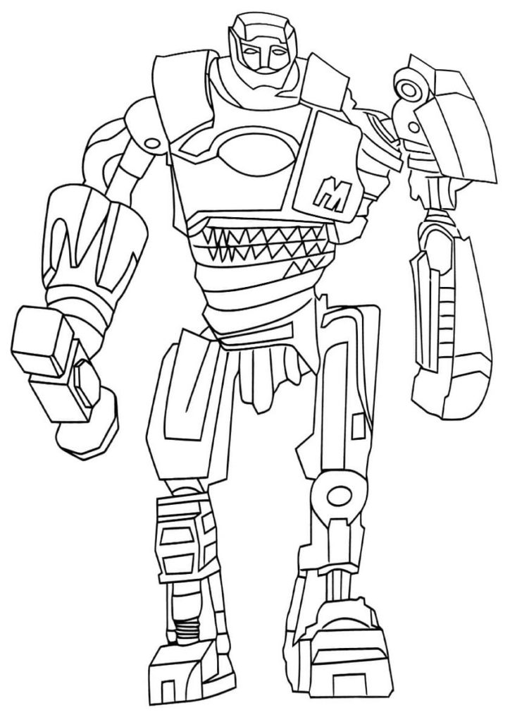 Coloring Pages Robots Print For Free A Large Collection