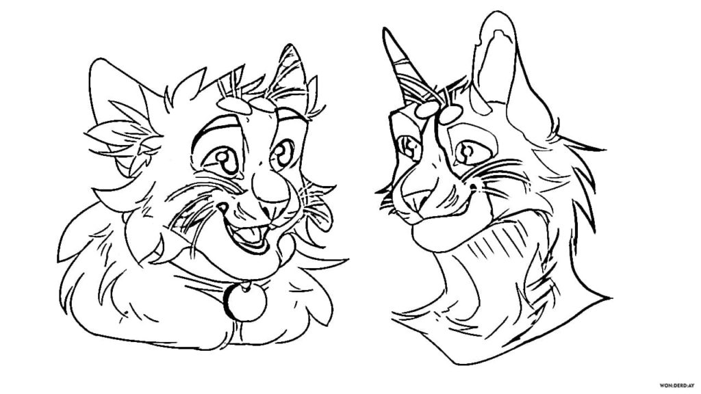 Warriors Cats Coloring Pages 90 Free Printable Coloring Pages
