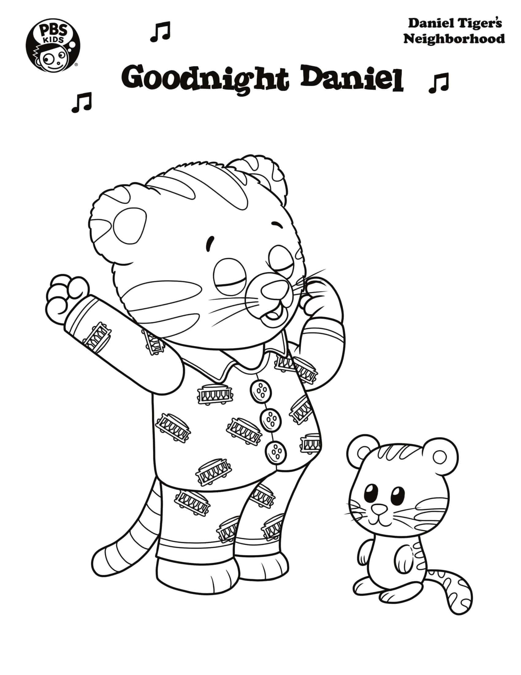 40 Disegni Di Daniel Tiger Da Colorare Da Stampare Gratis